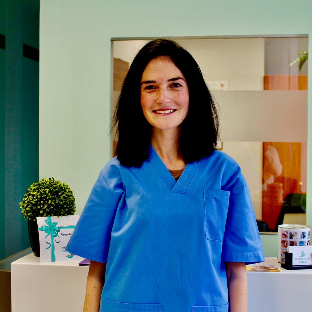 Mercedes Zapater Nutricionista en Clinica de Fisioterapia Duque